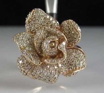 Rosegold diamond ring