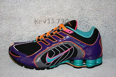 75bf420a415 AUTHENTIC Nike Shox Navina SI Black Purple nz Pink Turquoise Grey Women sz