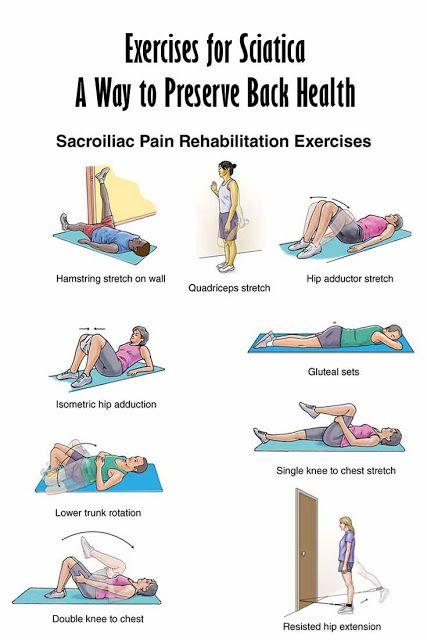 Self Help Exercises Sciatica