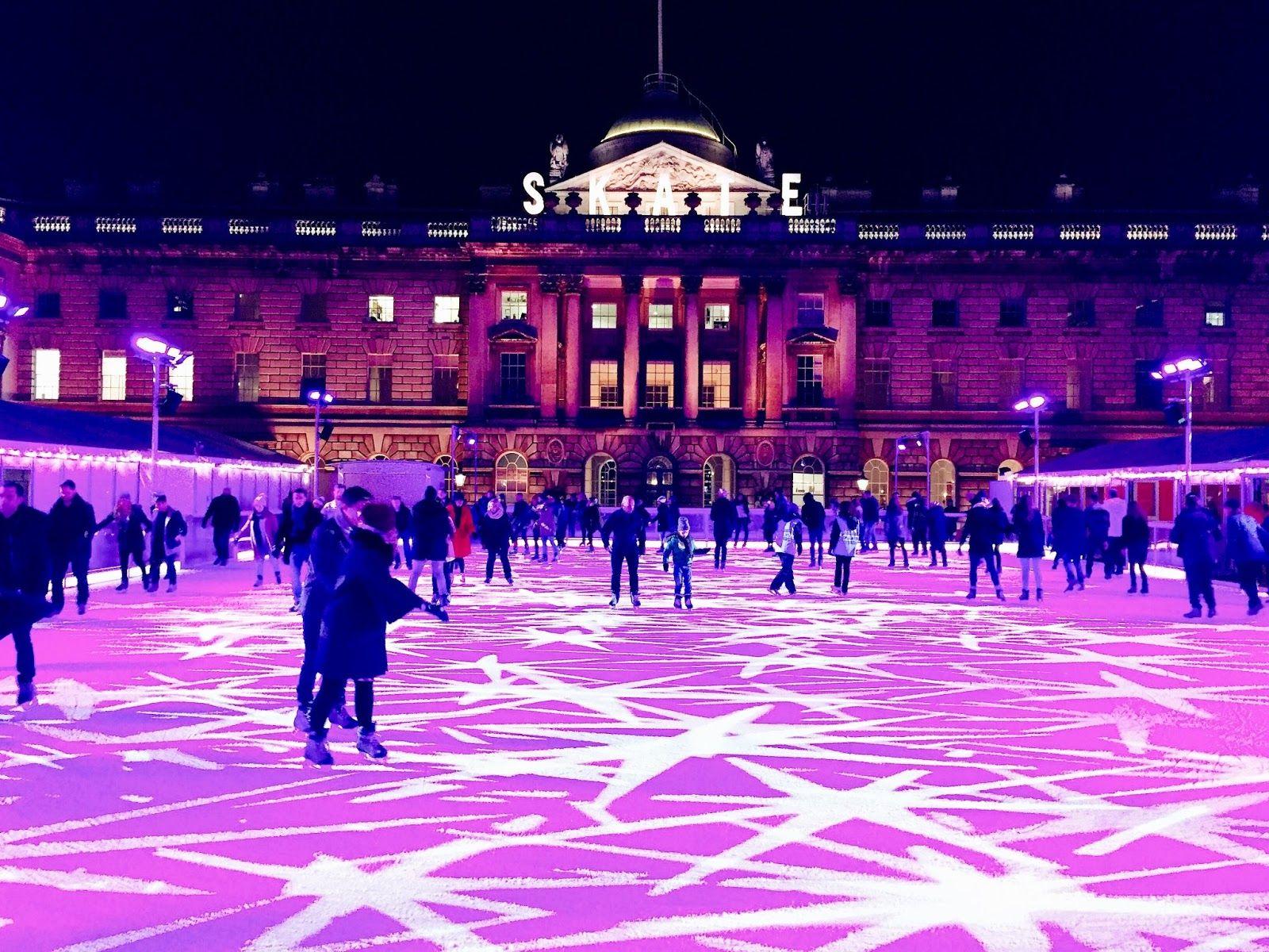 Skate at Somerset House London