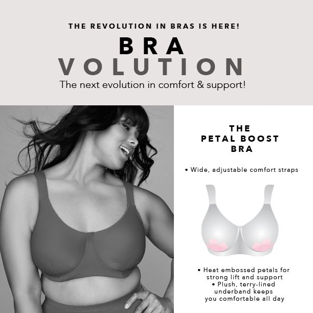 6555393a56 Petal Boost® Underwire Bra by Comfort Choice® from Woman Within ...