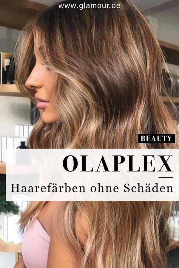 Olaplex: Haarefärben ohne Schäden | Haare pflegen, Haare