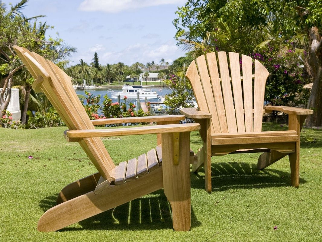 Atlantic Adirondack Chair   Douglas Nance Premium Teak Furniture
