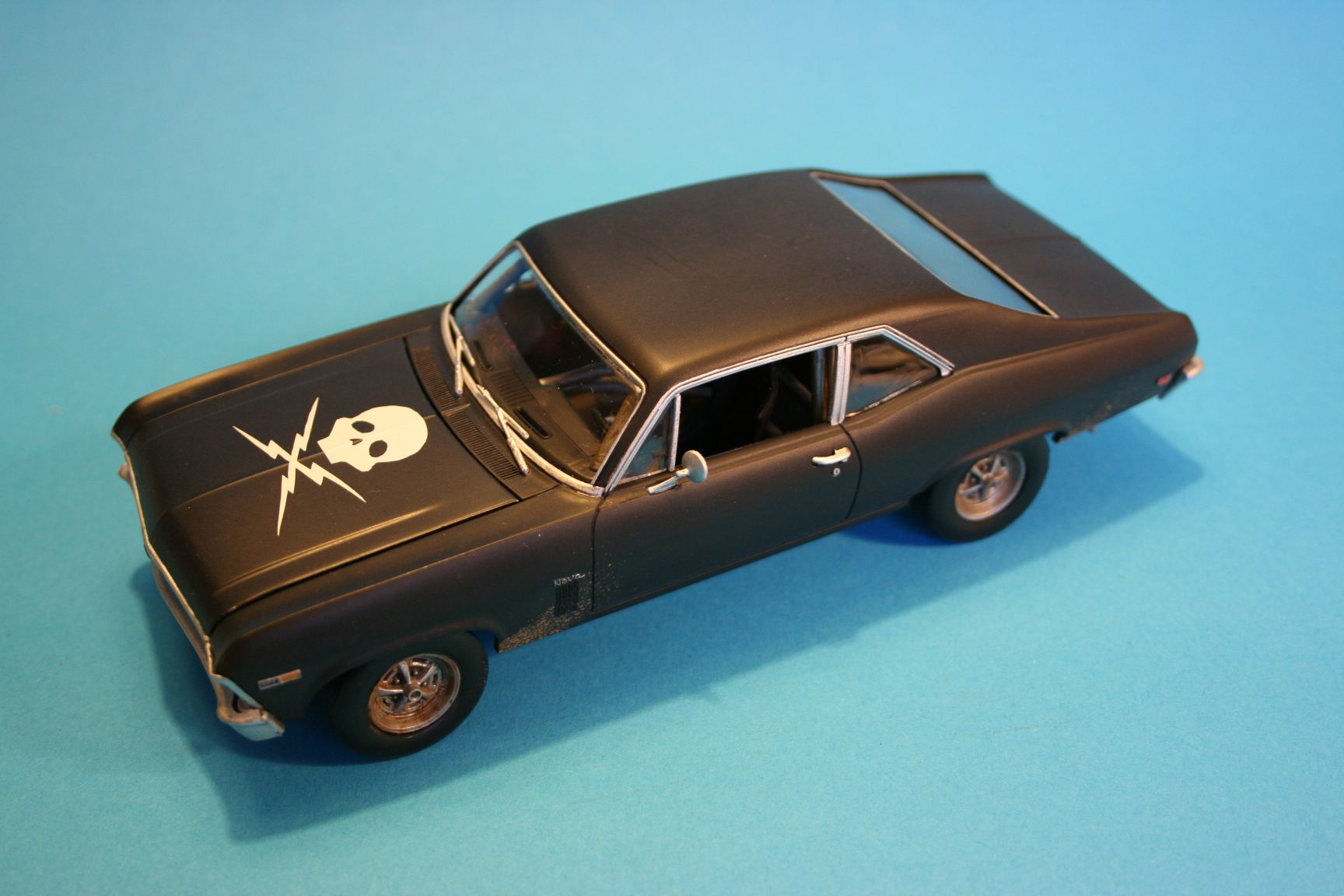 Death Proof Chevy Nova scale model | Scale Modeling | Pinterest