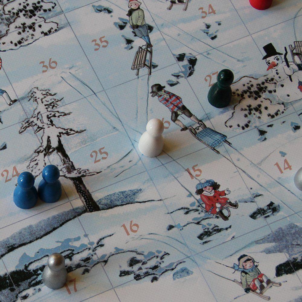 Spieltz Adventkalender – Fenster 1: Fröhliche Schlittenfahrt, das Spiel für Weihnachten und Winterabende