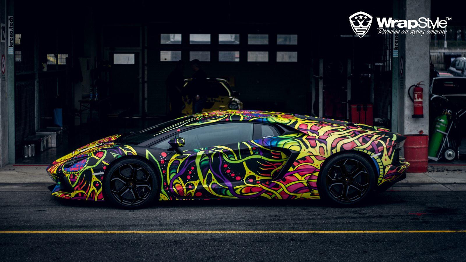 Lamborgnini Aventador 01 Wrapstyle Car Wrap Foil | By WrapStyle