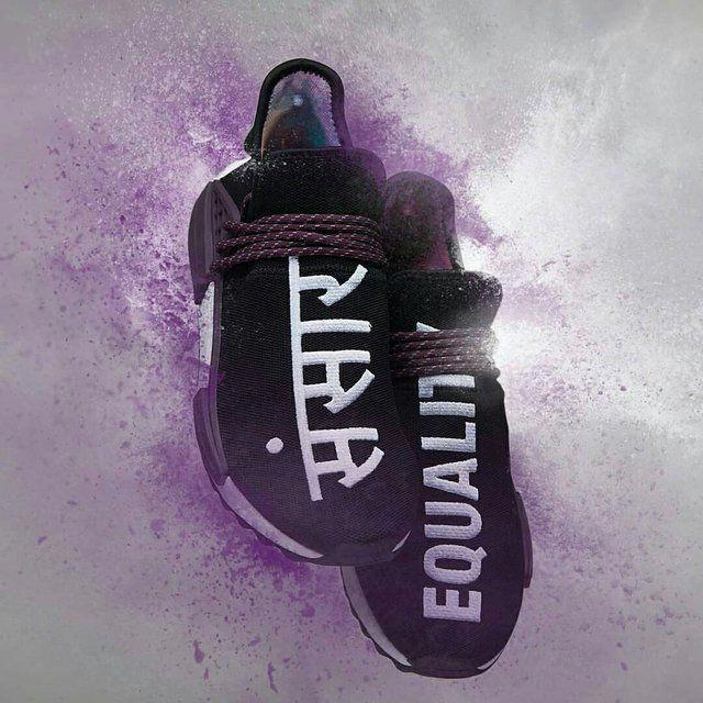 8ed6412fd45 adidas Human Race NMD Pharrell Holi Festival Core Black  tennis ...
