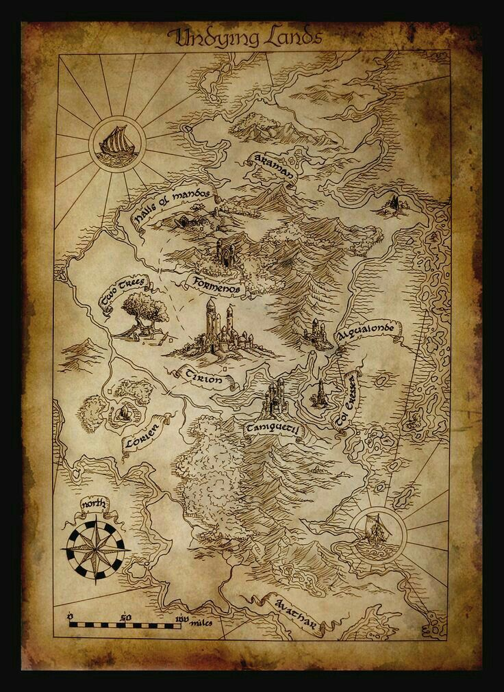 Pin by mradamsesq on J.R.R. | Tolkien map, Middle earth map