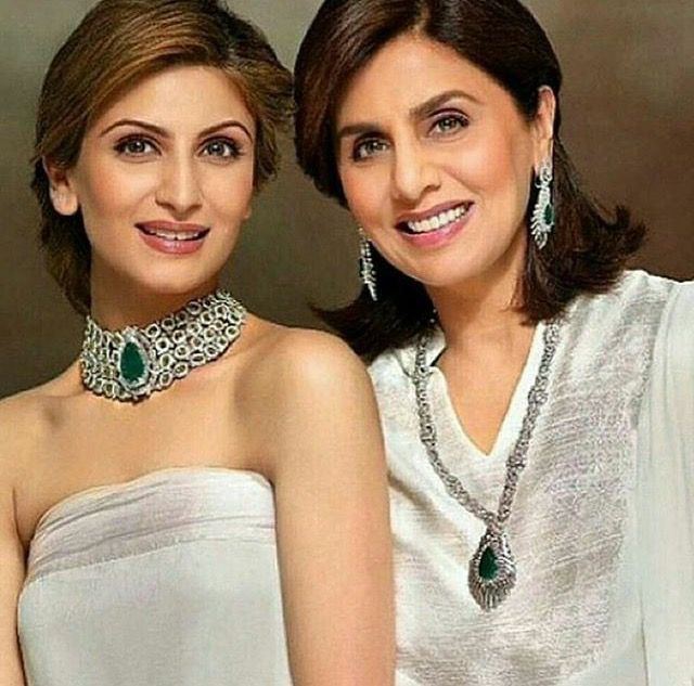 Neetu Singh with daughter Riddhima Kapoor (With images ...