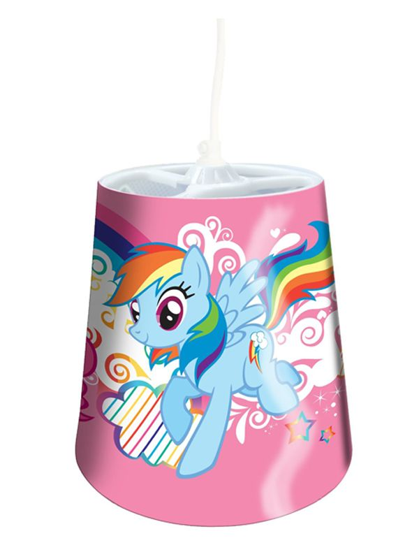 My Little Pony Tapered Ceiling Light Shade | Bedroom
