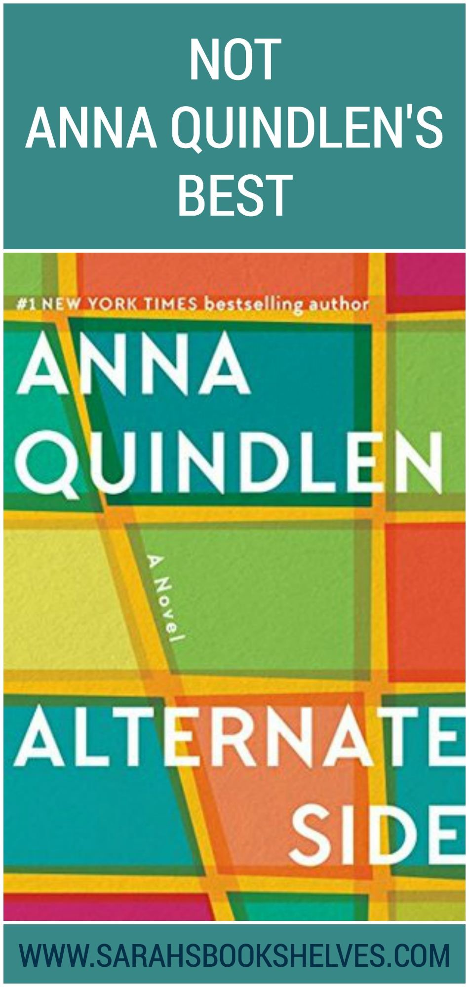 Alternate side by anna quindlen when a favorite author