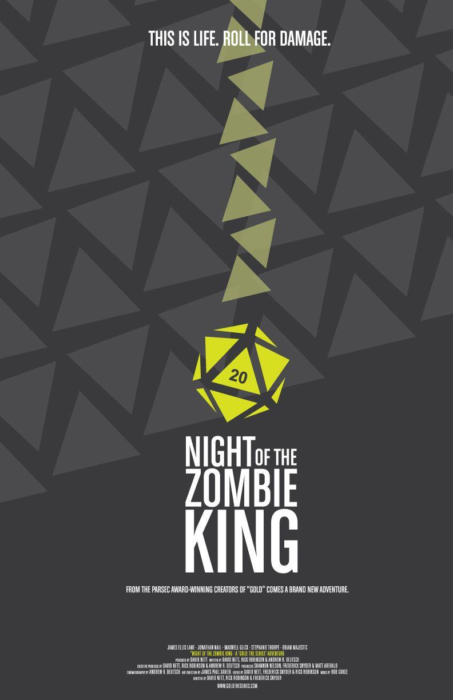 "Night Of The Zombie King - D. Nett - 2010 more here: ""Do it nerdy, but give it a soul. AKA: outstanding nerd web series"" http://turningmillifwindbestill.wordpress.com/2012/07/17/outstanding-nerd-web-series/"