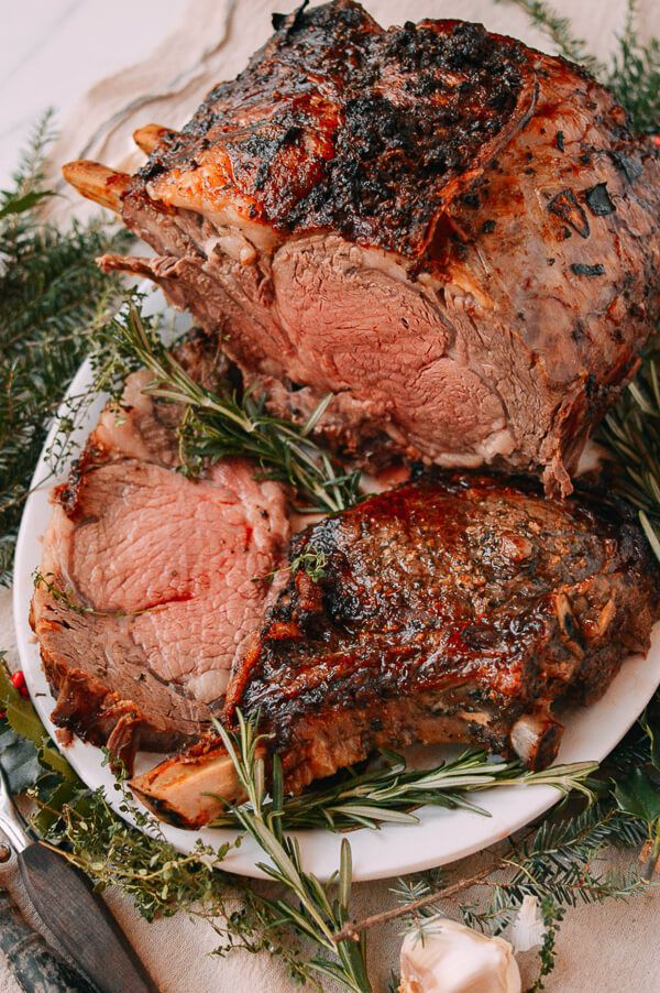 Christmas Roast Beef.The Perfect Prime Rib Roast Family