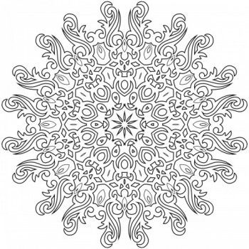 RELAX: Deep Relaxing Mandala Coloring Patterns and Calming Designs ...