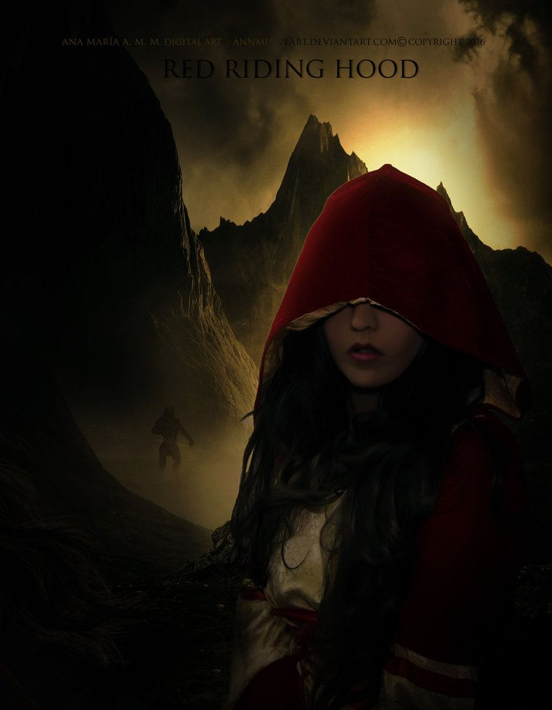 Red riding hood by AnnMLoveArt
