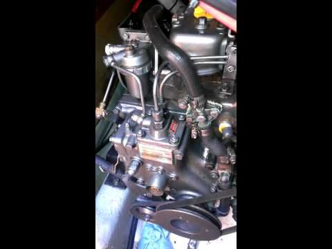 Bleeding air from Yanmar 2GM | marine engines | Boat engine