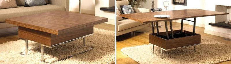 Convertible Table Transforms To Dining