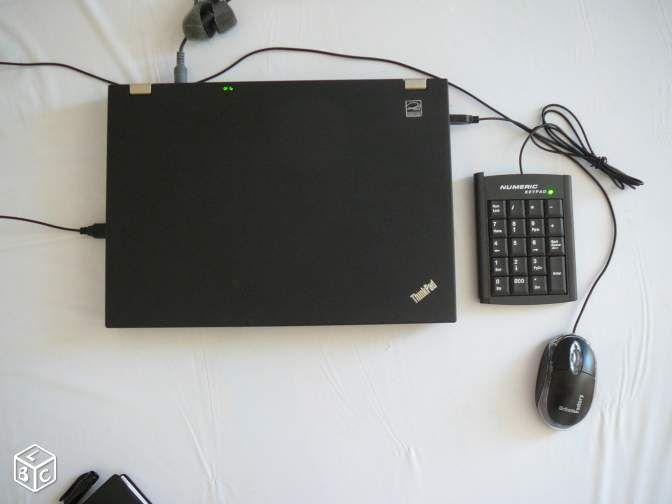 Ordinateur Thinkpad/souris/pavé numérique