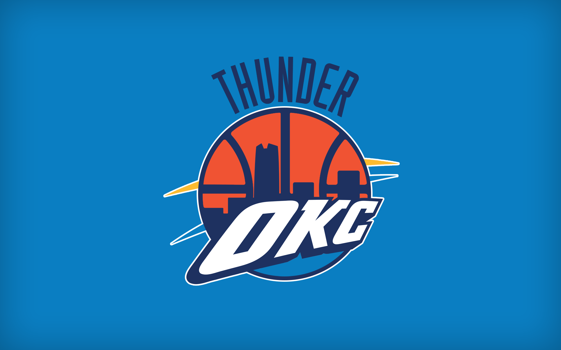 Redesigning Nba Team Logos With Elements Of Old And New Nba Teams Oklahoma City Thunder Okc Thunder