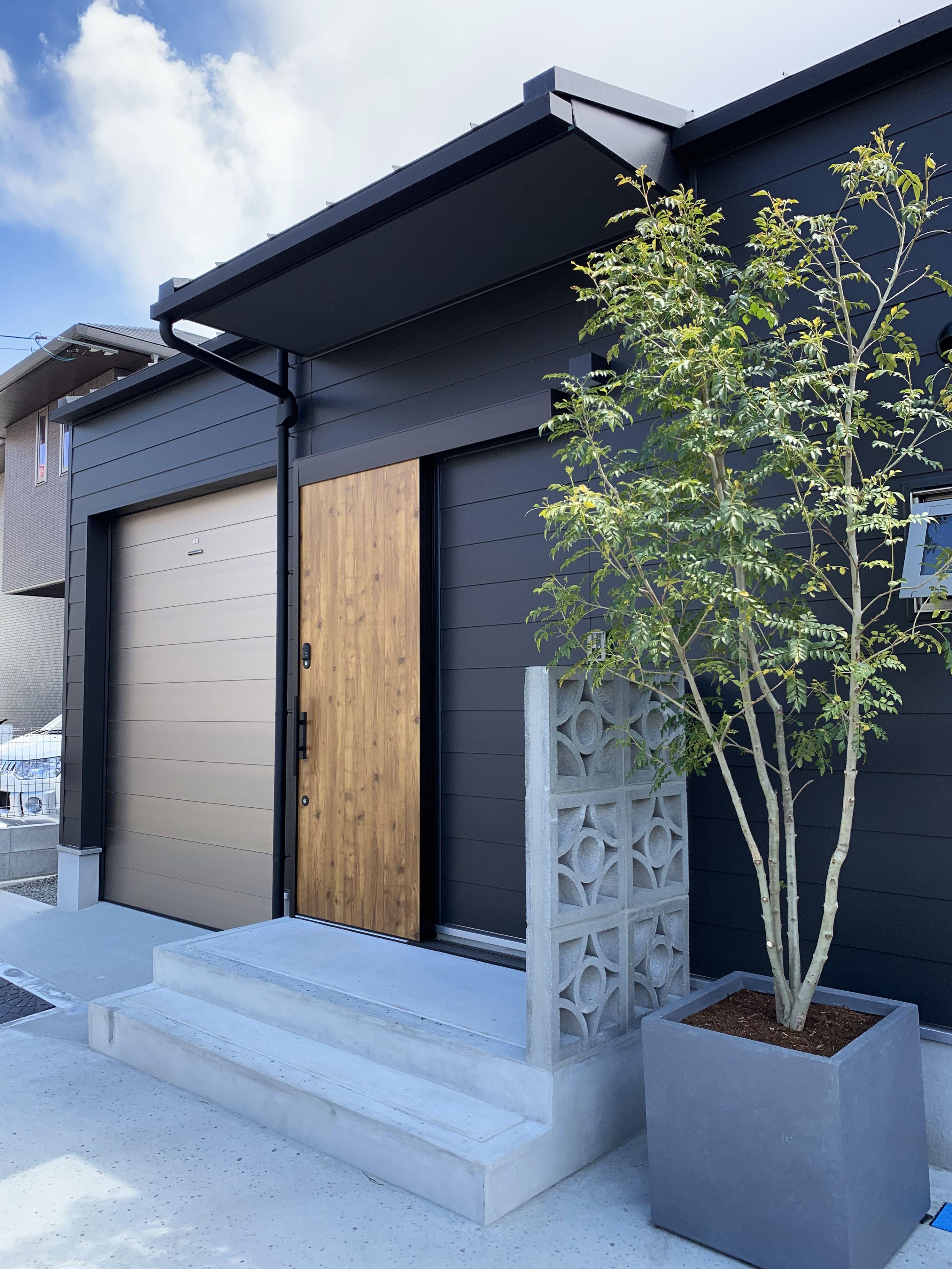 ビルトインガレージと薪ストーブのある平屋の家 東広島市 321house