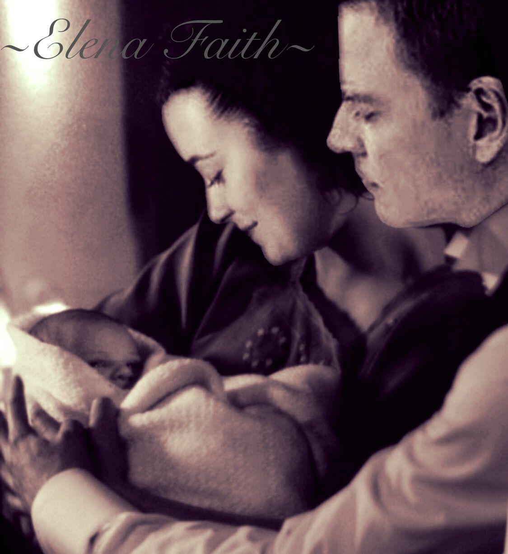 Tony and Ziva with baby! By @Crazycuz919 ~Elena Faith