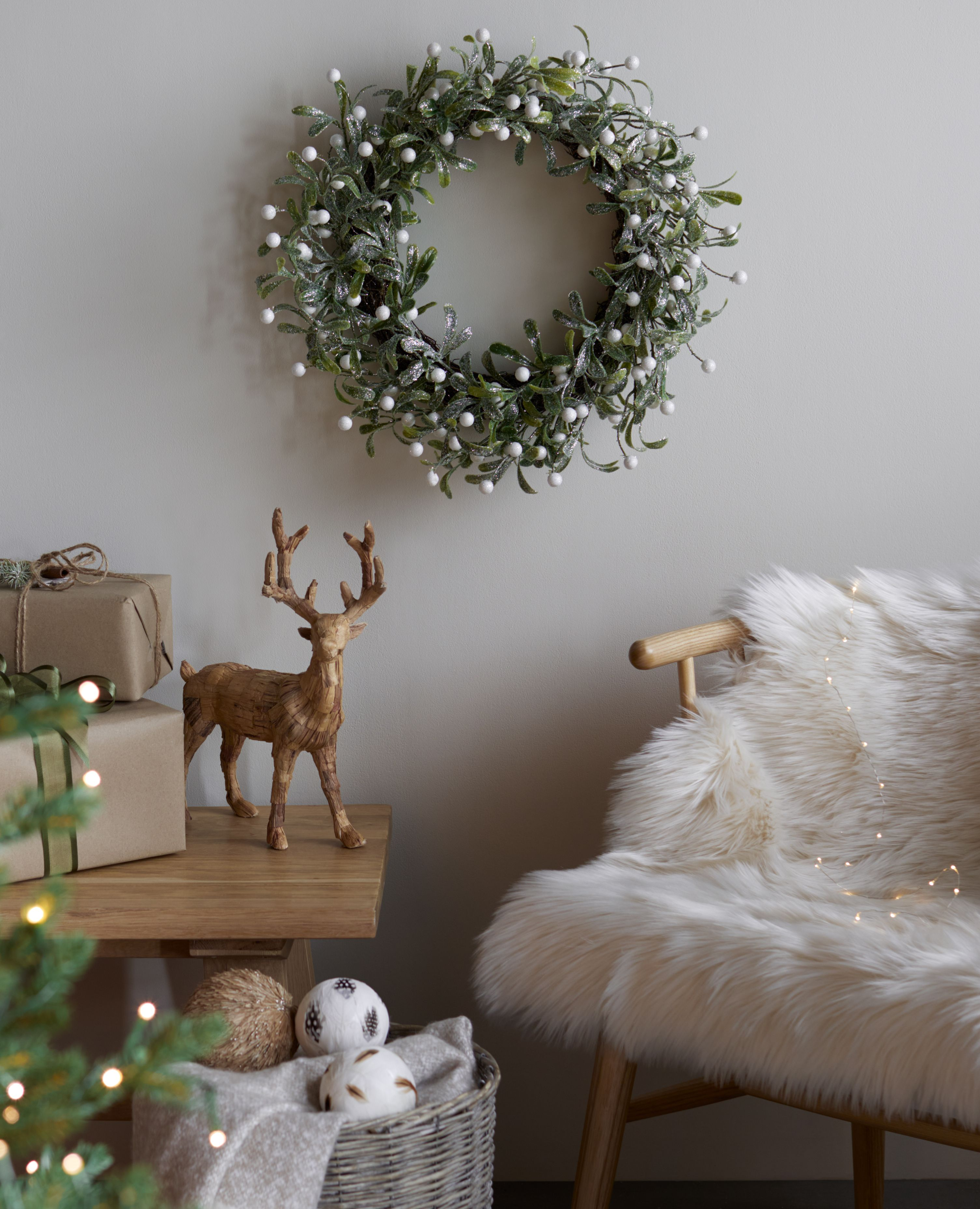 Qvc Uk Christmas 2020 Into The Woods In 2020 Wreaths And Garlands Christmas Decorations Garland