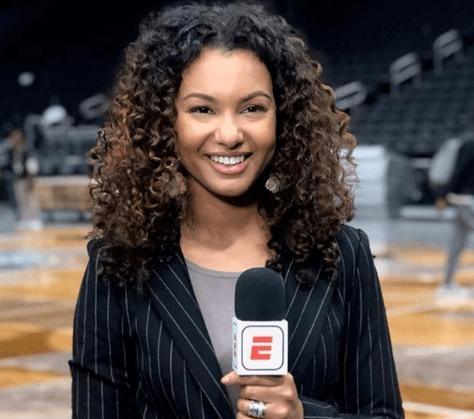 Malika Andrews in 2020 Celebrities, Athletic women