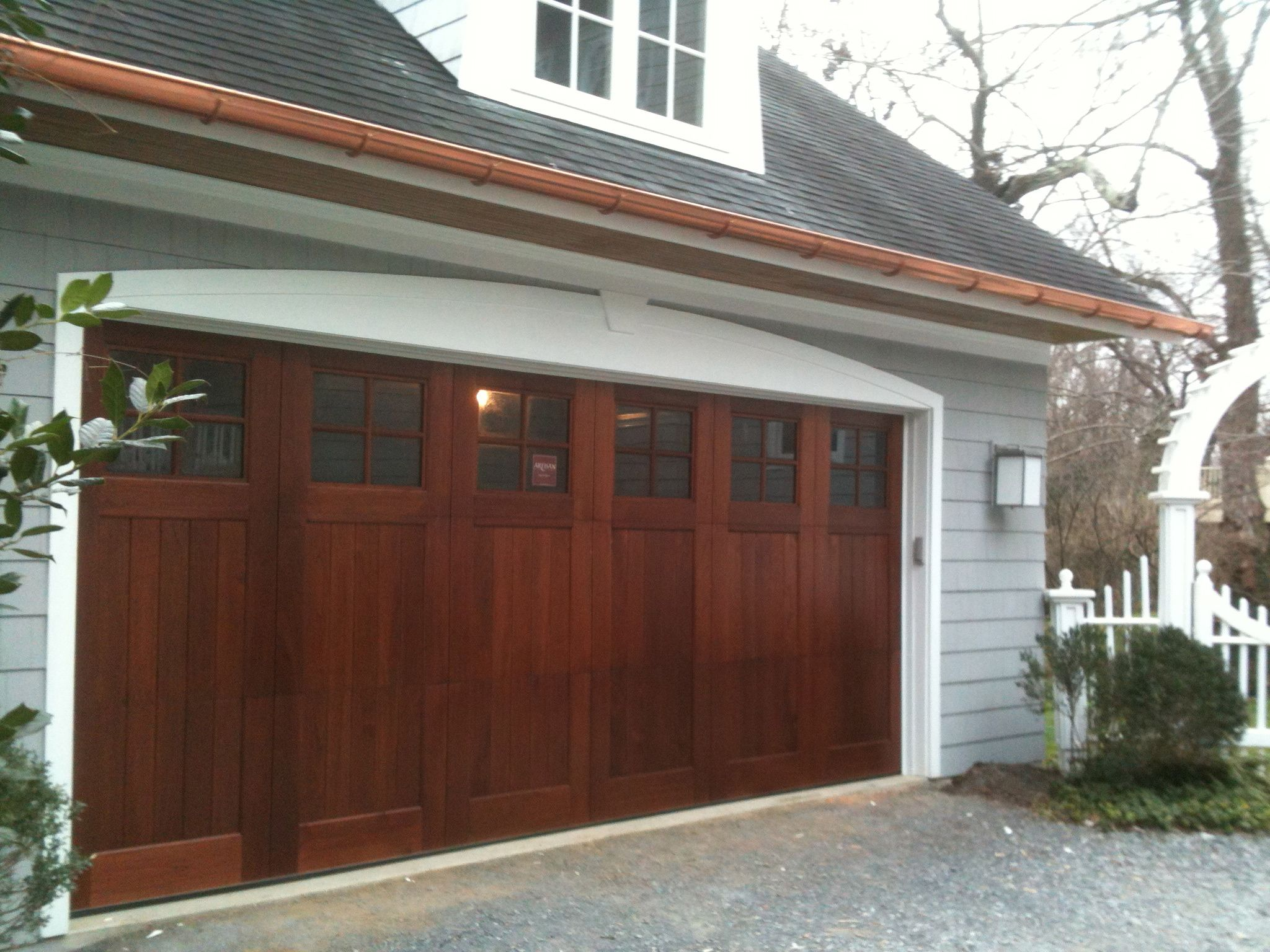 charm a systems vintage add doors door cedar entry garage wood reclaimed