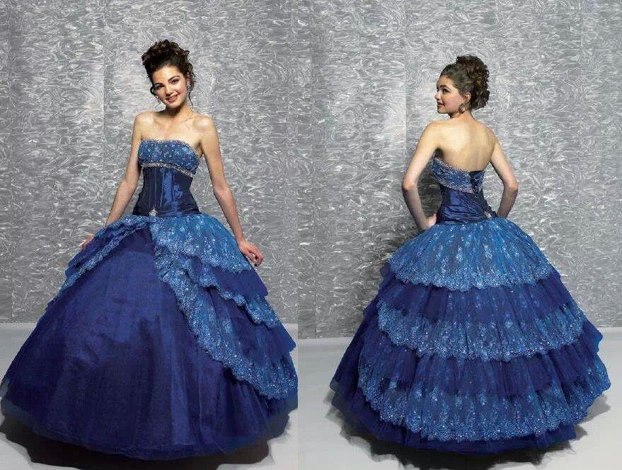 Galaxy wedding dress ball gowns gowns blue ball gowns