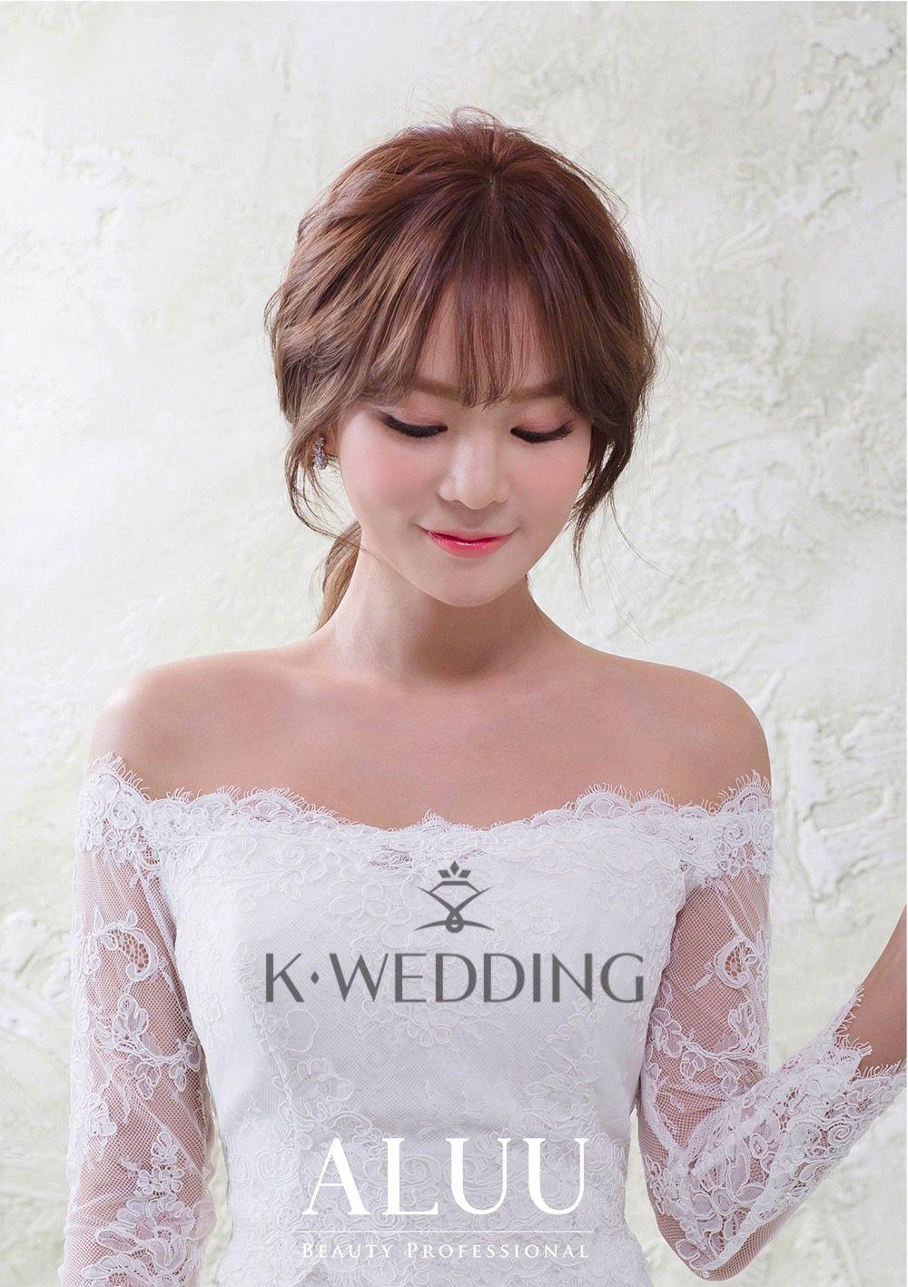 018(0) | Korea makeup and hairstyle | Pinterest | Boda