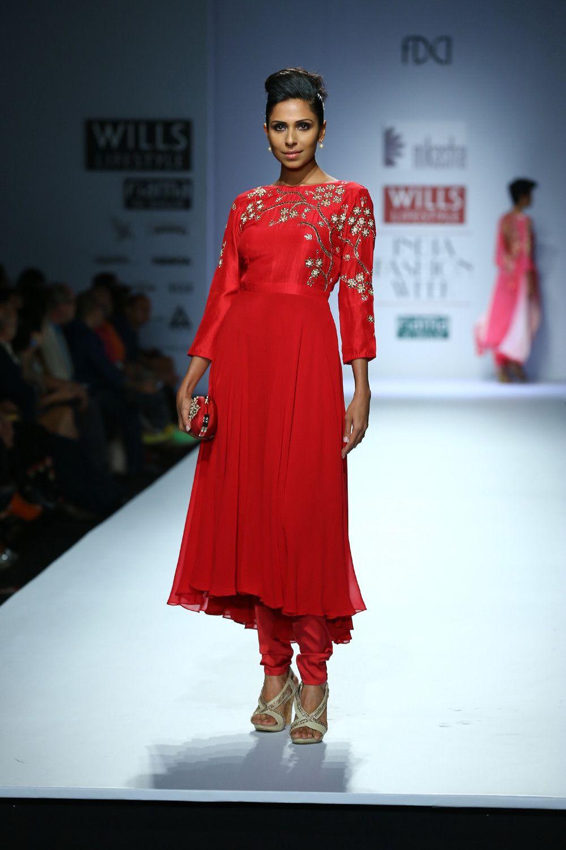 Nikasha WIFW Autumn/Winter 2014 Fashion gal, Indian