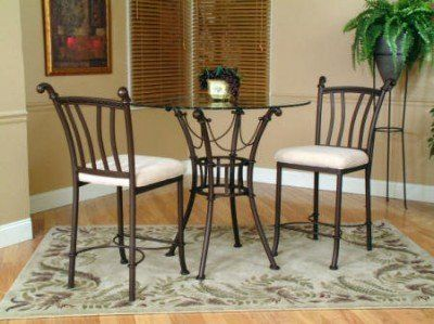Cramco Denali 5 Piece Counter Height Dining Set By Cramco