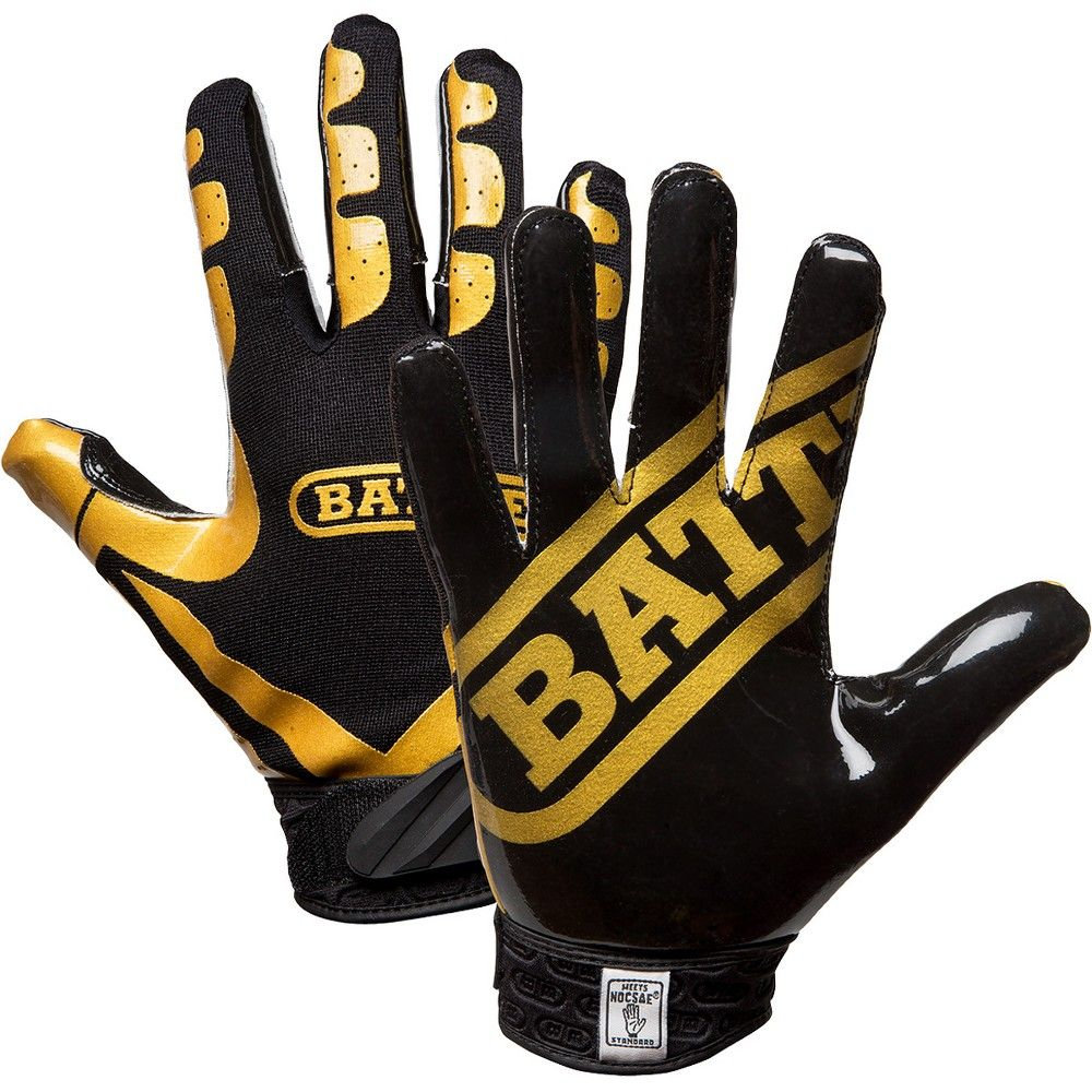 Battle receivers ultrastick football gloves youth small
