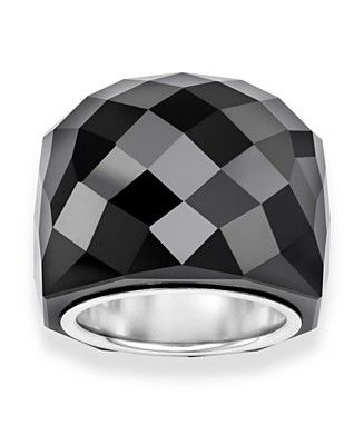 fb44042a5 New Swarovski Jet Nirvana Ring - the light reflects beautifully off of it -  gorgeous