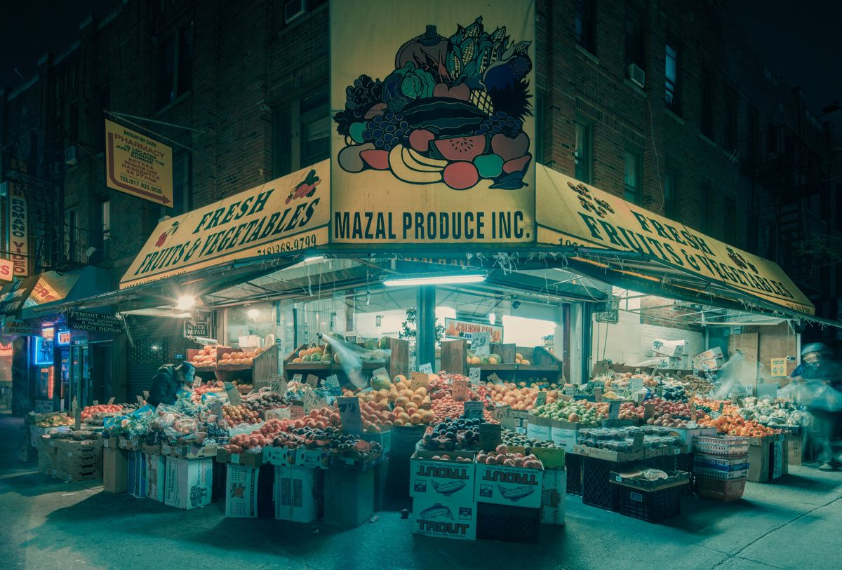 Franck Bohbot's Portfolio - In the Late Afternoon
