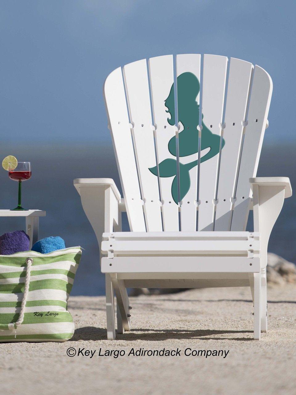 Mermaid Adirondack Chair Adirondack Chair Outdoor Chairs Summer Chairs