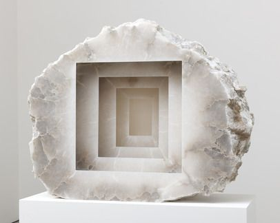 Anish Kapoor Blind 2013 Alabaster Art Sculpture Anish
