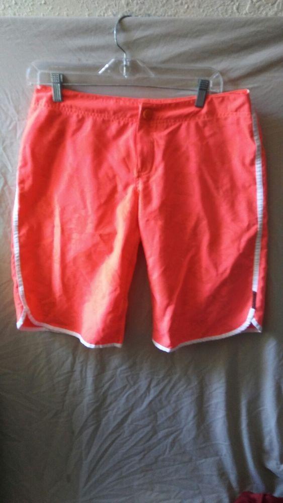 4b208249bb Lacqua Surf Board Shorts Neon Orange Swim Beach Trunks Size Medium Waist 32    Clothing, Shoes & Accessories, Men's Clothing, Swimwear   eBay!
