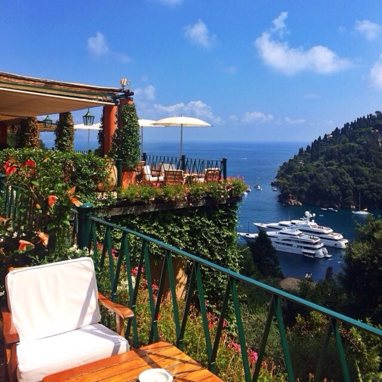 Belmond Hotel Splendido Portofino Italy By Fen The Has A Lot Of Spots For Guests To Enjoy Their Time And View