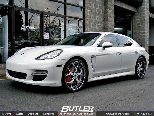 Akon S Porsche Panamera With 22in Asanti Af164 Wheels Akon Porsche Panamera Porsche Sports Cars Luxury