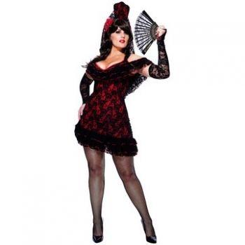 Lady of Spain Adult Plus Costume Halloween Costume Ideas - halloween costume ideas plus size