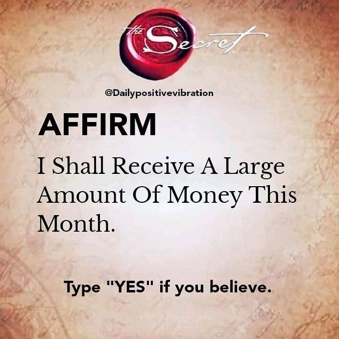 Manifest money, Secret quotes, affirmations, Law o
