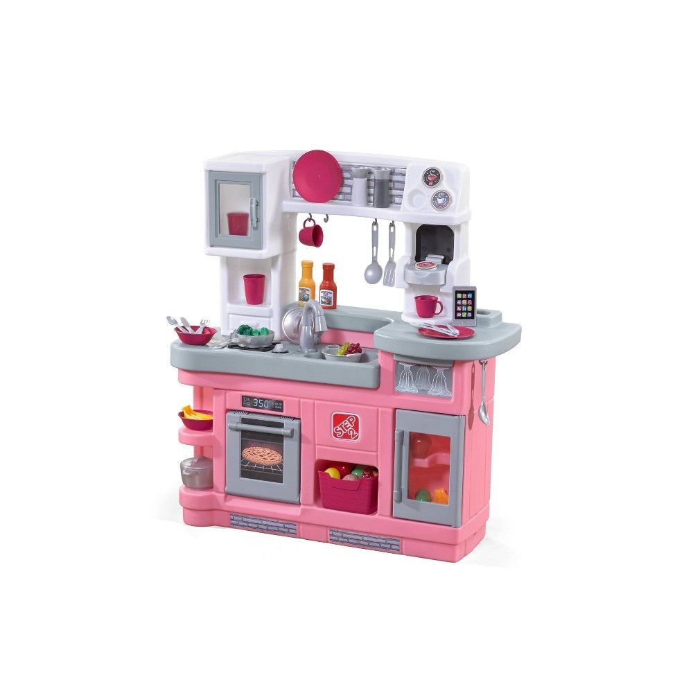 Step2 Love To Entertain Kitchen Pink Kitchen Sets For Kids