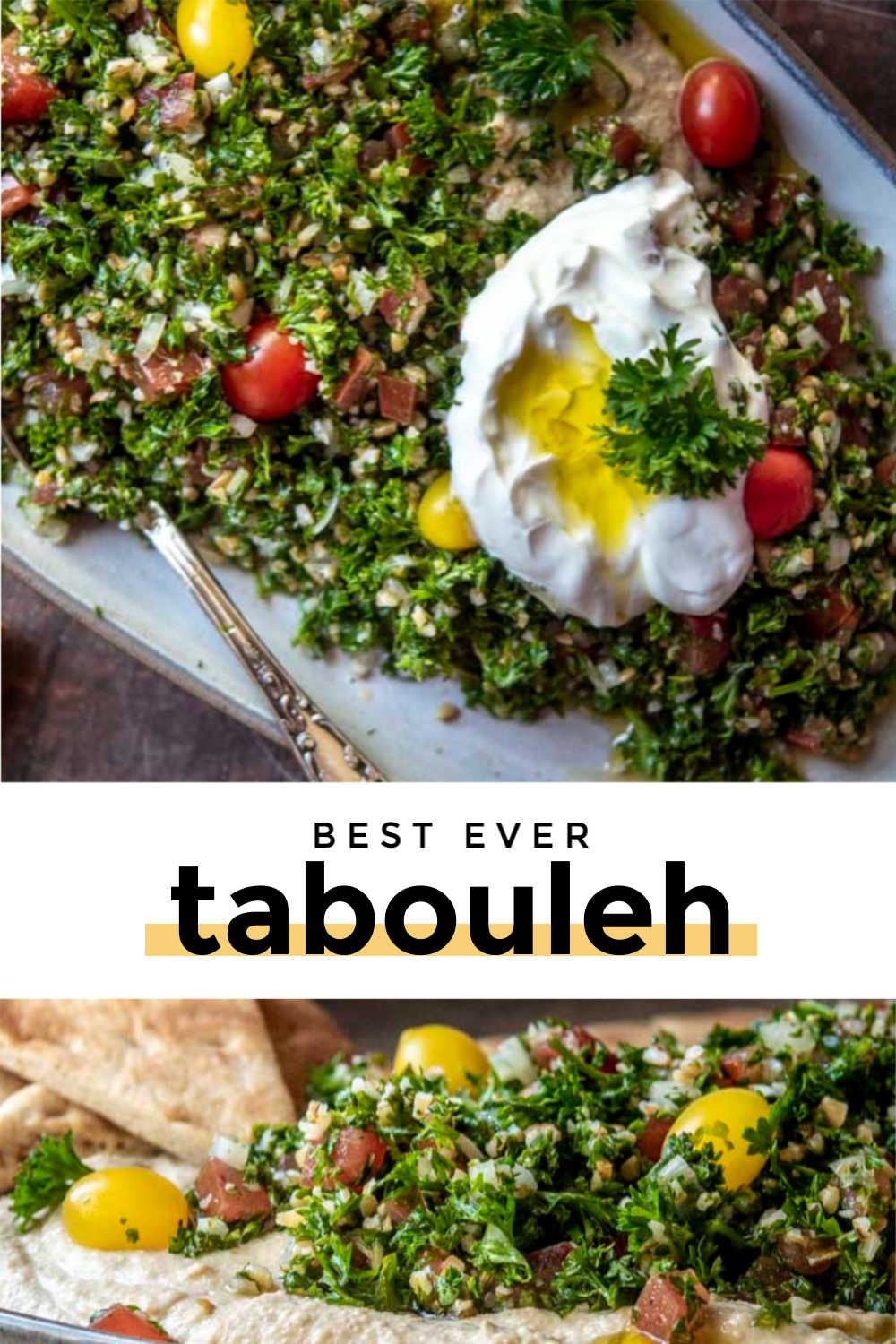 Best Tabouleh Ever (My Grandma's Recipe!) #newgrandma