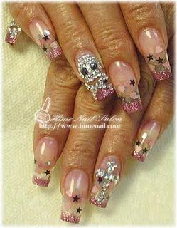 Todo Sobre Manos y Pies: dieño de uñas con flores
