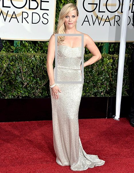 Reese Witherspoon Drips in $1.5 Million of Diamonds to Accessorize Silver Gown at 2015 Golden Globes   #imageconsultant #personalstylist #imageconsultant