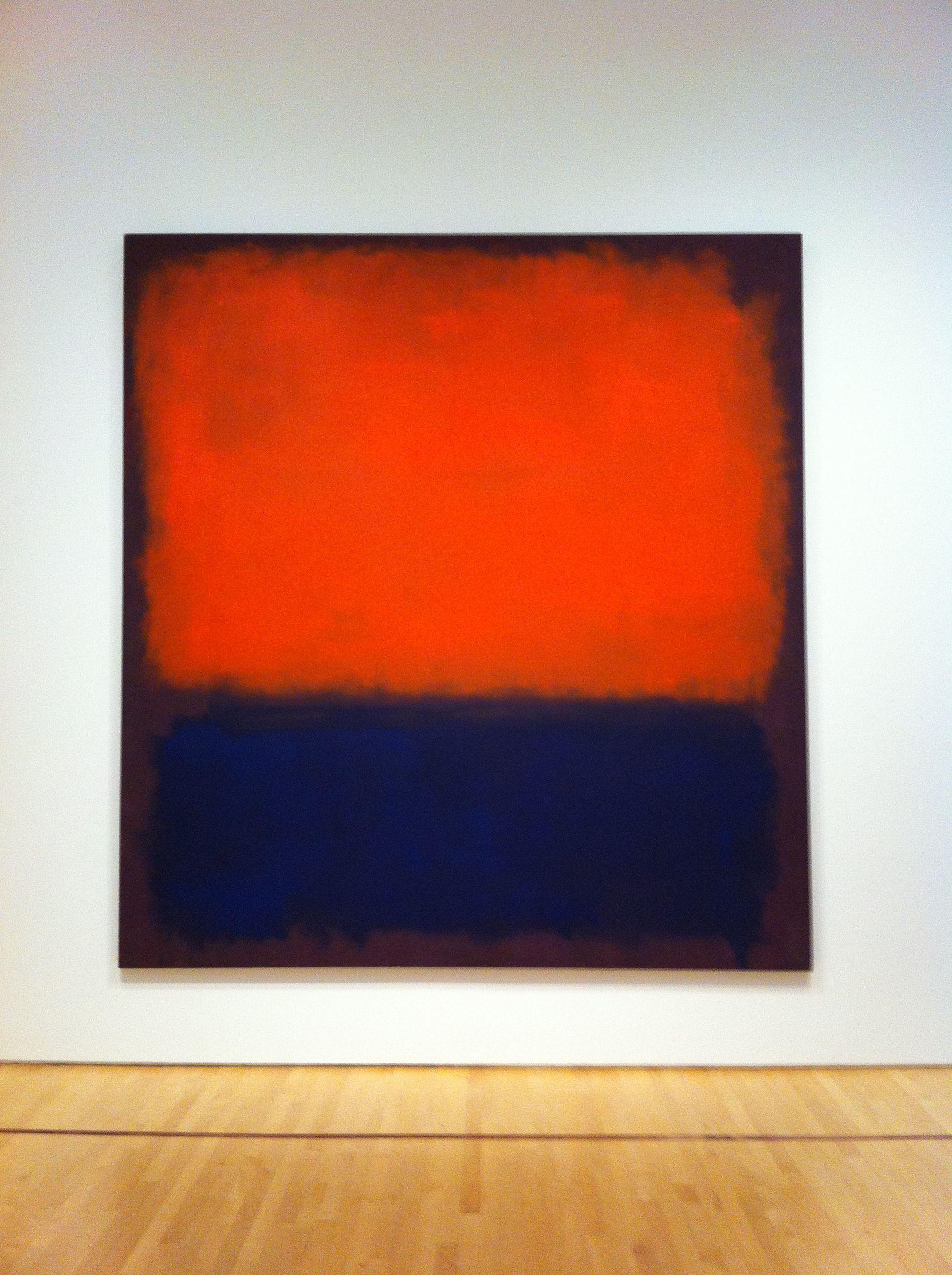 Rothko at SF MOMA