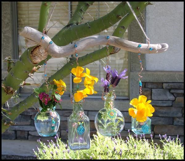 Looking for gardening project inspiration? Check out Garden Bottles ...
