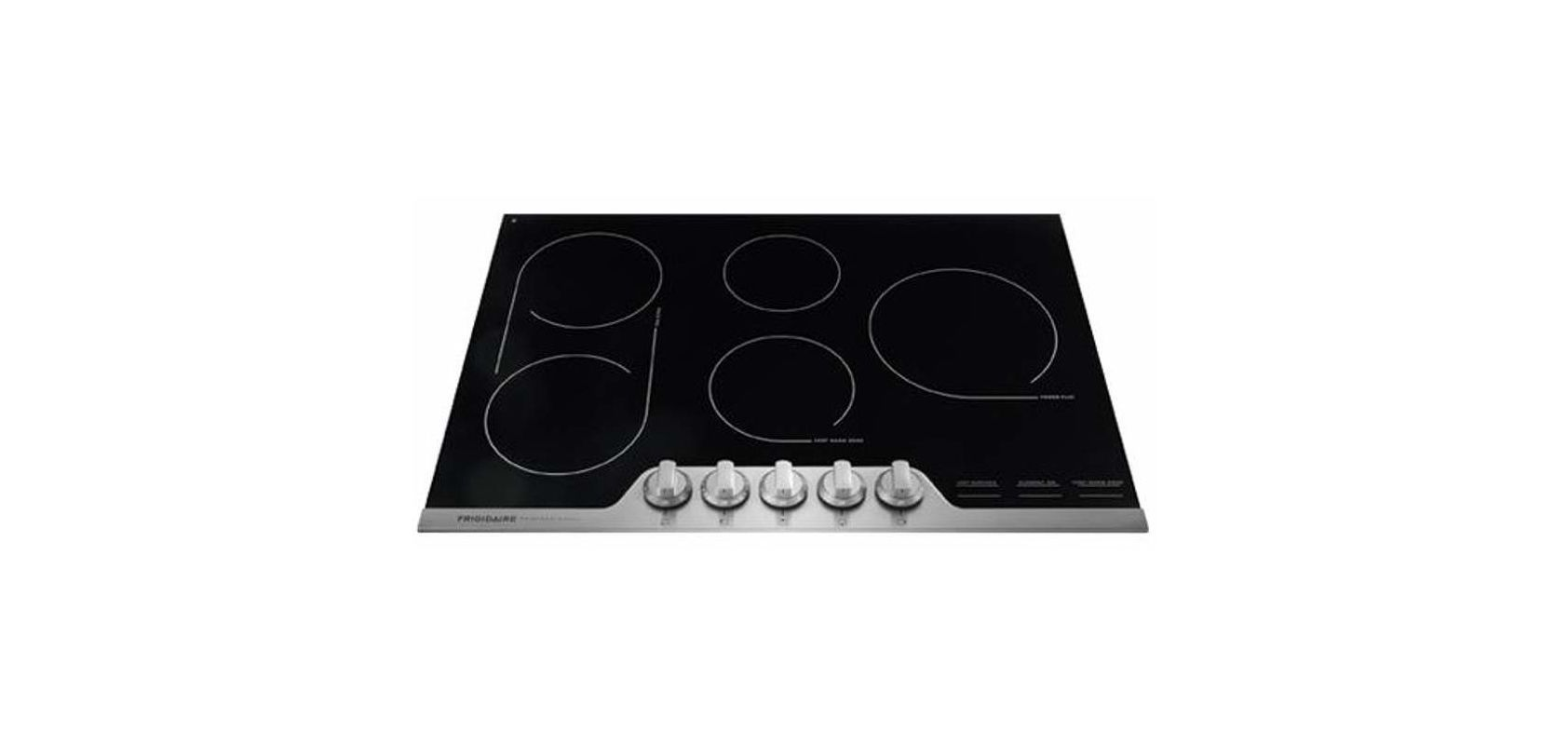 Frigidaire Fpec3077r Electric Cooktop Stainless Steel Kitchen Stove