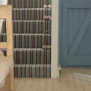 Striped Carpet On Hallway Stairs   Best Hallway Carpets   Hallway  Decorating Ideas   Allaboutyou.